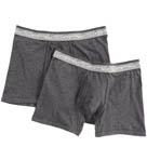 Kenneth Cole Super Fine Cotton Boxer Briefs - 2 Pack RN53M05