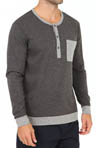 Knit Long Sleeve Sleep Shirt-DNA