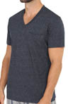 Kenneth Cole Reaction Heather Jersey V-Neck T-Shirt REM2201