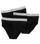 Kenneth Cole Reaction REAL LASTING Cotton Briefs - 3 Pack REM8401