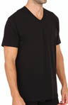Kenneth Cole Reaction REAL COOL Stretch Cotton V-Neck T-Shirts - 2 Pack REM8802