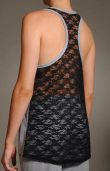 Permanent Collection Lace Glimpse Tank