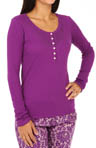 Kensie Weekend Warmup Long Sleeve Top 2413667