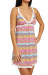Kensie Seasonal Keepers Whitney Microfiber Chemise 2613684