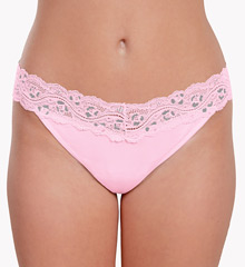 Knock out! Smart Panties Lacy Combo Low Rise Thong KO-1000