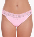 Smart Panties Lacy Combo Low Rise Thong Image