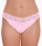 Smart Panties Lacy Combo Low Rise Thong