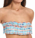 L Space Arrows Jessie Reversible Fringe Bandeau Swim Top AR76T14