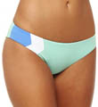 Geo Hipster Full Cut Swim Bottom Image
