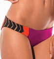 Color Blocked Geo Hipster Full Cut Swim Bottom Image