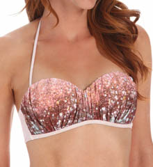L Space Celestial Ariel Bandeau Swim Top CE69T14