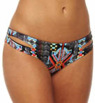 L Space City Tribe Full Cut Swim Bottom CT32F13