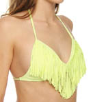 L Space Audrey Straight Fringe Swim Top FR56T13
