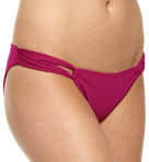 Sensual Solids Taboo Tab Full Cut Swim Bottom