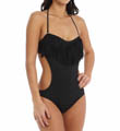 Free Love Bandeau Fringe One Piece Swimsuit Image