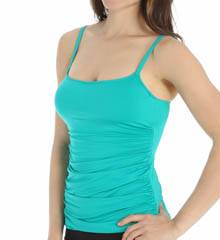 La Blanca Core Solid Underwire Tankini Swim Top LB5R083