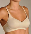 La Leche League Seamless Molded Padded No Wire Nursing Bra 4106