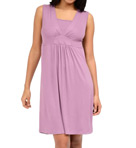 Layered V-Neck Sleeveless Nursing Chemise Image