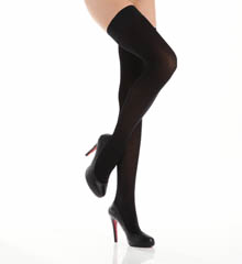 La Perla Calze Microfiber Thigh High Tights 11746