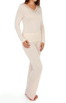 La Perla Violetta Pajama Set 16665