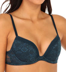 La Perla Volta Lightly Padded Lace Push Up Bra 905779