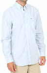 Regular Fit Button Down End On End Woven Shirt