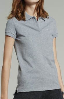Lacoste Short Sleeve 2 Button Stretch Pique Polo