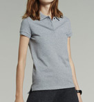 Short Sleeve 2 Button Stretch Pique Polo Image