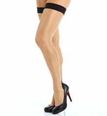 L'Agent by Agent Provocateur Back Seam Thigh High LH00-86
