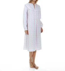Lanz of Salzburg Long Flannel Gown 5016803