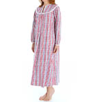 Lanz of Salzburg Long Flannel Gown 543687