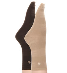 Horizontal Micro Trouser 2 Pack Socks