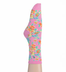Lauren Ralph Lauren Floral Striped Sock - 2-Pair Pack 33818