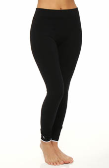 Solid Tipped Cuff Legging