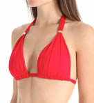 Lauren Ralph Lauren Swimwear Laguna Solids Molded Cup Slider Swim Top LR5F187
