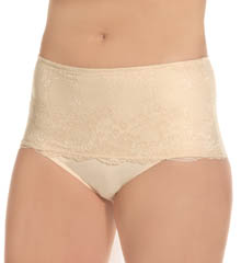 Le Mystere Defining Lace Tummy Tamer Brief Panty 1459