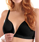 Front-Closure Crossover Molded Bra Image