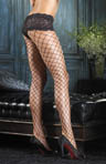 Leg Avenue Fence Net Pantyhose with Boyshort Top 1278