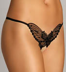 Leg Avenue Butterfly Crotchless Thong 2600