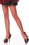 Leg Avenue Plus Size Spandex Industrial Net Pantyhose 9003x