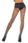 Leg Avenue Fishnet Pantyhose With Backseam 9015