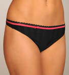 Ribbon Stripe Thong
