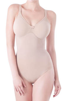 Lipo in a Box Core Firm Control Bodysuit with Soft Cup Bra 1646100