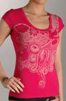 Fine Yarn Cotton T-Shirt