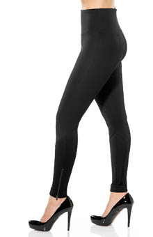 Lysse Leggings Ponte Geo Zip Leggings