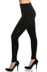Lysse Leggings Fashion Ponte Sequin Stripe 1525