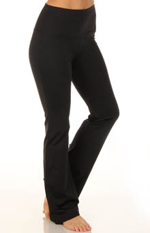 Lysse Leggings Flare Bottom Pant with Lace Up Grommets
