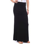 Ruched Maxi Skirt Image