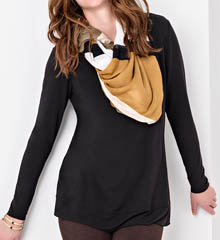Lysse Leggings Scoop Drape Top 2165T