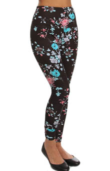 Lysse Leggings Printed Ankle Ponte Legging 5119A